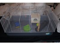 Nearly new mid sizes rat cage
