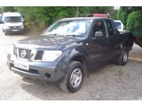 Navara kingcab 2007-57-reg, 2.5 turbo diesel, 105,000 miles,new mot