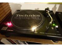 Technics 1210 Mk3 - (rare) + Technics headshell + Ortofon Concorde needles - mint condition