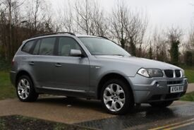 2004 BMW X3 2.5 i Sport 5dr AUTO, 4X4, HUGE SPEC, IMMACULATE CONDITION, 3M WARRANTY, PX WELCOME