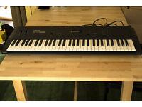 Yamaha YS55 Keyboard / Synthesizer with padded case - 61 keys