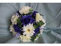 Bridal Bouquets. Handmade, silk wedding bouquets.
