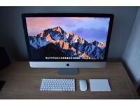 iMac, Late 2015 Model, 27-inch 3.2ghz Intel core i5, 1TB Fusion Drive, 16GB DDR Memory, 2GB GPU