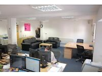 Large desk spaces in bright office in the heart of North Laine - get a new workspace for 2017