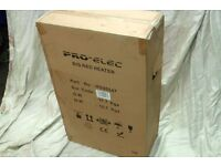 NEW PRO ELEC - 3kw 240v RED RAD HEATER