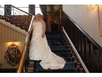 Wedding dress used ivory