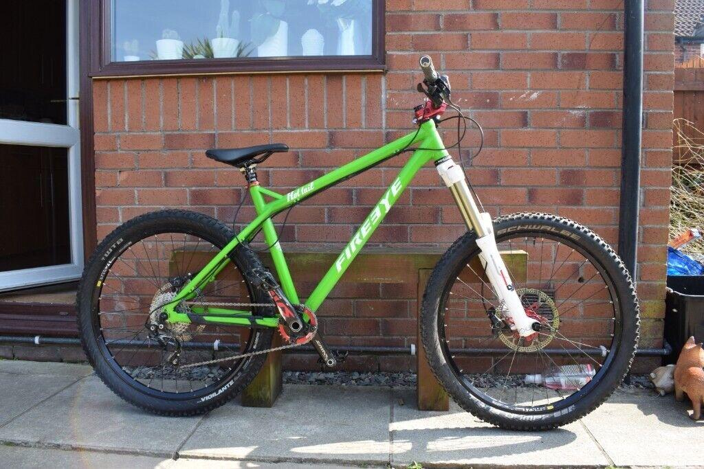 Fireeye hottail green L 26 mountain bike | in Cwmbran, Torfaen | Gumtree