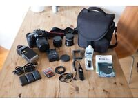 Canon 7D with 15-85mm & 50mm Bundle
