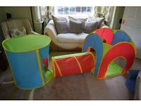 Chad Valley Play Tent Set of 3