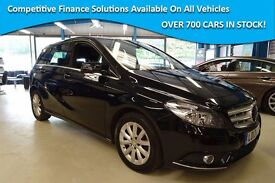 Mercedes B180 CDI BLUEEFFICIENCY SE [LOW MILES / NAV / PARKTRONIC ] (obsidian black metallic) 2012