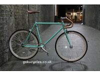SALE ! GOKU cycles Steel Frame Single speed road bike TRACK bike fixed gear bike racing bike E
