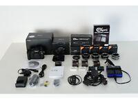 Fujifilm X-T2 + 35mm F2 WR lens + lots of accessories