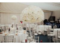 Various Wedding Items - Would suit a professional business. Wedding decor