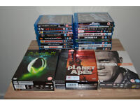 19 BluRays for sale and 3 DVD Box sets, All in great condition