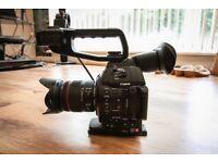 Canon C100MK2 & Sigma 18-125mm Lense