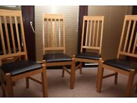 4 Marco Dinning Room Chairs as new only 10 Months old