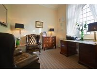 Harley Street Therapy Room - weekday and weekend day available. Beautiful, well maintained room.