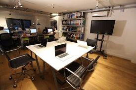 Desks for rent in shared office, Shoreditch