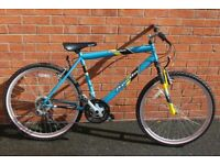 Apollo Slamshot Mountain Bike, 18 Speed, 19 inch frame, Hardly used