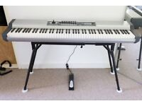 Studiologic VMK-188 Plus piano midi controller with stand, foot pedal and carrying bag