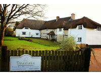Mallard Cottage - rural, child and pet friendly holiday cottage in Devon with on site swimming pool