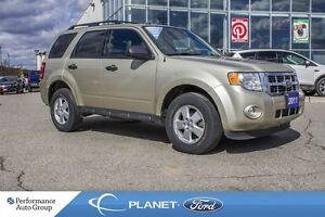 2011 Ford Escape XLT|4 WHEEL DRIVE|CLASS II TOWING|KEYLESS