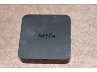 MXQ Android Box, with add-ons for sale