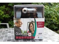 *LOGITECH QUICKCAM FUSION FOR PC/MAC- HIGH-END PROFESSIONAL WEBCAM WITH BUILT-IN MIC*