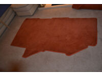 BAILEY PAGEANT BURGUNDY 2007 FULL SET OF CARPETS HARDLY USED
