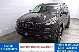 2014 Jeep Cherokee TRAILHAWK 4WD w/ NAVIGATION! PANORAMIC SUNROO