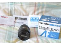 Nikon Fit Tamron AF 18-200mm F3.5-6.3 Telephoto Lens