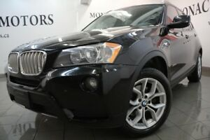 2013 BMW X3 28i Heated steering Leather Bluetooth Electric Sea