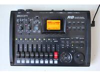 zoom r8 - 8 track recorder portastudio