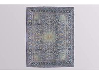 MASSIVE ROOM SIZE LAMB'S WOOL HAND WOVEN DOME MEDALLION DESIGN PERSIAN KASHMAR RUG 400X300cm