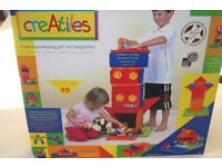 CreAtiles by Fiesta Crafts award winning creative building toy for girls and boys aged 3-10 years