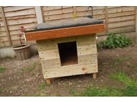 Three Rabbit/Chicken or Guinea pig shelters. Will seperate