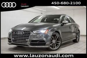 2015 Audi S3 2.0T TECHNIK MAGN.SUSP. CAMERA NAV LED LIGHTS