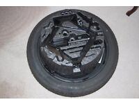 space saver tyre set / spare wheel / jack and wrench / NEW -- NEVER USED / continental