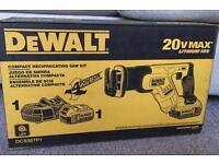 DEWALT 20V COMPACT RECIPROCATING SAW KIT