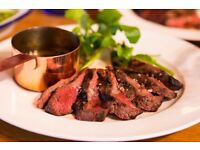 Chef de partie required part time for small French steak restaurant