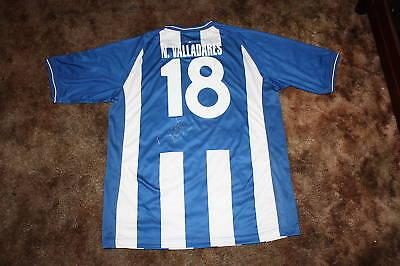 NOEL VALLADARES SIGNED 2010 HONDURAS SOCCER JERSEY image