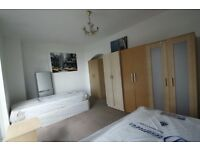 LOVELY TWIN ROOM TO OFFER IN SWISS COTTAGE CLOSE TO THE TUBE STATION. 18F