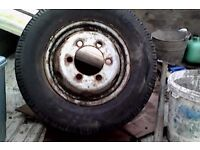 TYRES FOR SALE 185 14R COMMERCIAL FOUR OFF ALL GOOD TREAD