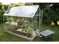 8 X 6 GLASS GREENHOUSE ALL GLASS INCLUDED