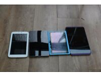 4 TABLETS for parts