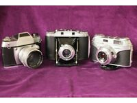 3 Classic cameras for sale