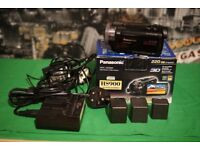 Panasonic HDC-HS900 220 GB Camcorder Dual Charger 3 Batteries