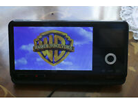 Portable DVD Player with i phone/pod dock