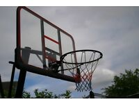 Basket Ball Net with backboard. and weighted base.