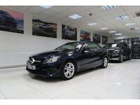 MERCEDES-BENZ E CLASS 2.1 E220 CDI SE Cabriolet 7G-Tronic Plus 2dr Auto (blue) 2013